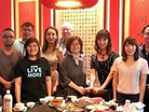 设计总监Alan赴台参观台湾高雄海洋文化暨流行音乐中心建筑项目